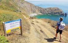 trek randonnee en normandie sur le sentier du littoral