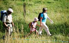rando trekking facile dans le triangle d or du perigord noir